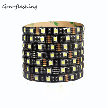 SMD 5050 RGB LED Strip Light 5M 60LEDs/M Flexible Waterproof IP65 LED Light Ribbon Tape For Home Outdoor Lighting Decoration led strip 12 v smd 5630 12v 60leds m waterproof 5m led strip warm white blue led tape diodes ip20 ip65 flexible 5630 led light
