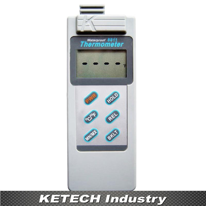 AZ-8811 Impermeabile tipo K Termocoppia Termometro con campo di misura-200 ~ 1300CAZ-8811 Impermeabile tipo K Termocoppia Termometro con campo di misura-200 ~ 1300C