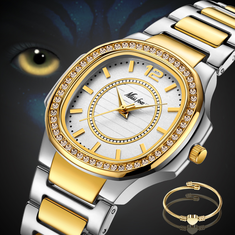 a3cffd83f140 Detail Feedback Questions about Quartz Watch Female 2018 Luxury Brand CZ  Diamond Analog Patek Ladies Watches Water Resistant C Golden Clock Hour For  Women ...