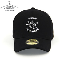 ArTees Apparel 2017 Black Fashion Baseball Cap Hip Hop New Comfortable Men's Women's Adjustable Fitted Baseball Cap Hat