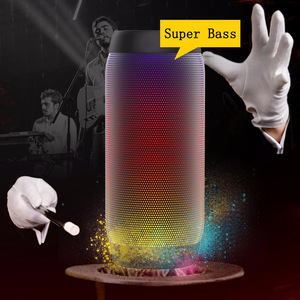 Image 1 - Bluetooth スピーカーカラフルな防水スーパー低音サブウーファー屋外スポーツサウンドボックス FM ポータブルスピーカー Iphone Xiaomi Huawei 社