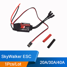 Original SkyWalker Brushless ESC 20A 30A 40A with High Performance For RC Airplanes Helicopter Quadcopter Free shipping