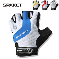 ถุงมือขี่จักรยานครึ่งนิ้วถุงมือจักรยานจักรยานPadแข่งถุงมือขี่จักรยานAntiskid Gelระบายอากาศสั้นจ...