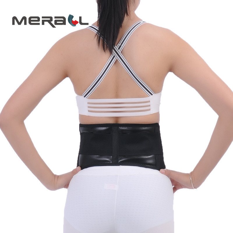 Adjustable Waist Brace Support Corset For Slimming Keep Warm Motion Body Sculpting Magnetic Therapy Care Belttourmaline Products