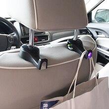 SEBTER многофункциональный автомобильный крюк блокировки с индукционной лампой, аварийная лампа и пряжка ремня автомобильный Органайзер на спинку сиденья Перевозчик