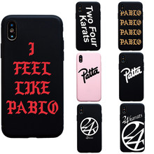 Luxury Brand Japan 24Karats Pablo soft silicon case For iphone 6 6s plus 7 8 Plus X XS Max XR 5s SE funda coque cover case(China)