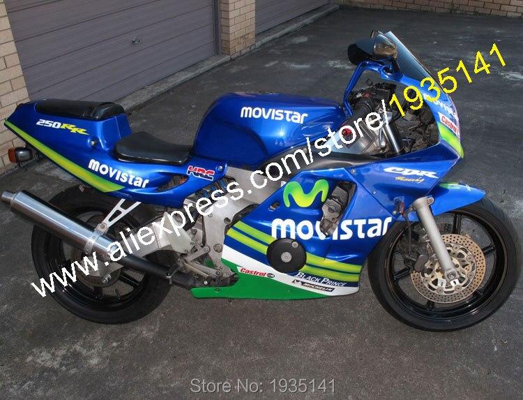 Pour Honda CBR250RR 1990 1991 1992 1993 1994 CBR 250 RR 90 91 92 93 94 Carénage De Moto (moulage par Injection)