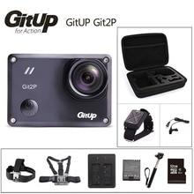 Оригинал gitup git2p действий камеры 2 К wifi спорт dv pro полный HD 1080 P 30 м Водонепроницаемый мини Видеокамеры 1.5 дюймов Новатэк 96660 Cam