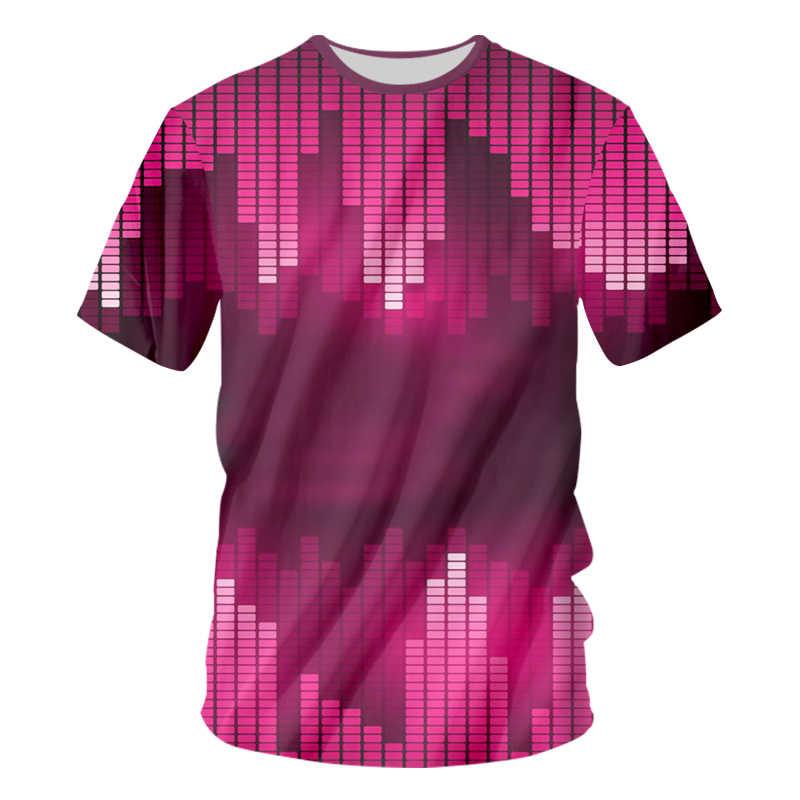 UJWI Заводская распродажа звуковая активация светодиодный футболка светящаяся вверх и вниз мигающий эквалайзер EL футболка Мужская Рок диско-вечерние DJ футболка
