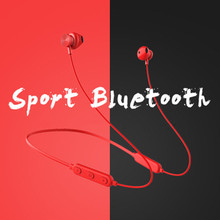 2019 New Wireless Neckband 5 Bluetooth Headset Sports Running Stereo Subwoofer Magnetic Earphones 5.0 With Microphone