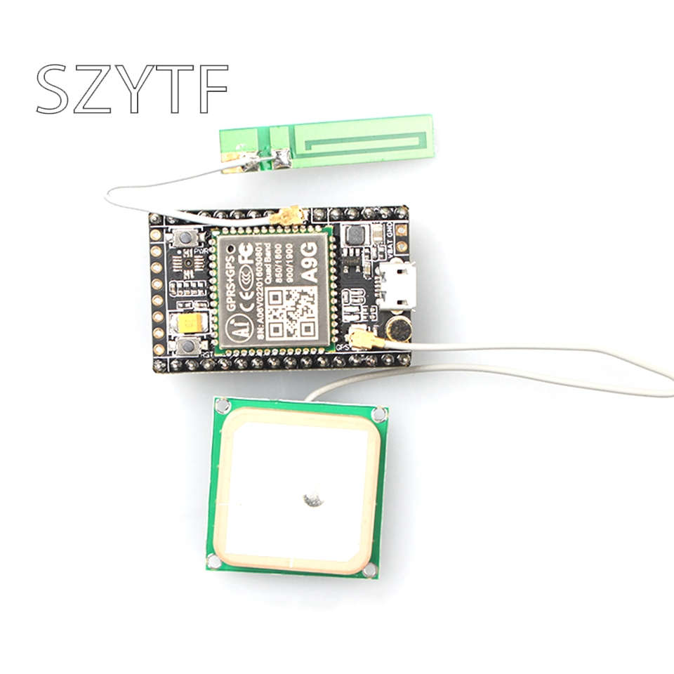 GSM/GPRS+GPS/BDS development board A9G development board \\SMS\Voice\Wireless data transmission + positioningGSM/GPRS+GPS/BDS development board A9G development board \\SMS\Voice\Wireless data transmission + positioning