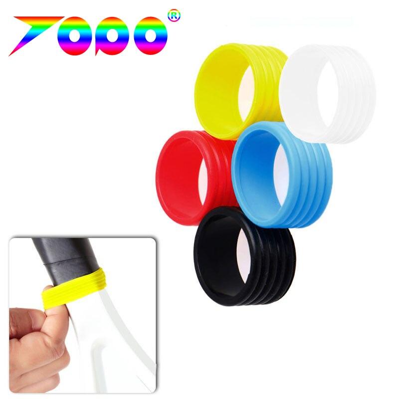 O envio gratuito de 100 pçs/lote silicone raquete de tênis apertos anel/alça silicone hushing/tênis raquete