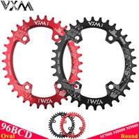VXM овальная, круглая велосипед Адреналин и звездочек 96BCD широкий узкий звезду 32 т/34 Т/36 т/38 т для горный велосипед шатуны M7000 M8000 M9000