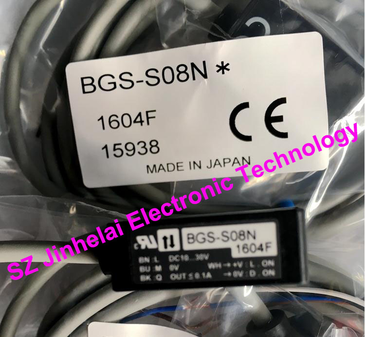 New and original  BGS-S08N  OPTEX   PHOTOELECTRIC SWITCH new and original zr 350n optex photoelectric switch photoelectric sensor