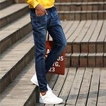 Four seasons На джинсы 2016 Стрейч Джинсы pantalones вакеро дизайнер осень мужчин бренда джинсы мужчин Известных Брендов Джинсы 963 9