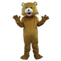 Детский медведь костюм талисмана pedobear костюм талисмана Взрослый размер бесплатная доставка
