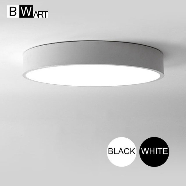BWART Modern LED ceiling light Round simple decoration fixtures study dining room balcony bedroom living room ceiling lamp