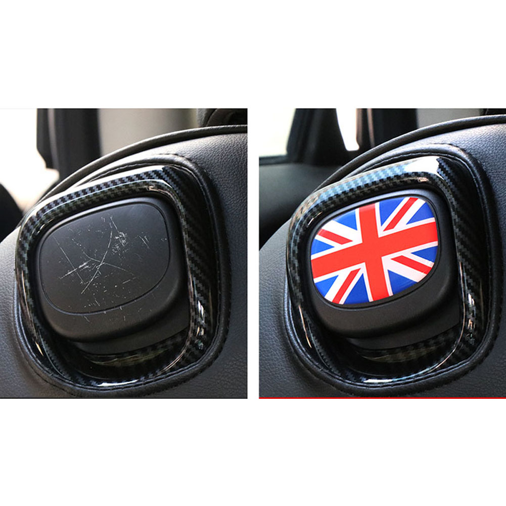 For Mini Cooper F56 F55 Seat Back Buckle Handle Hook 3D Stickers Crystal Glue