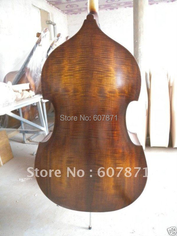 New Flame 3/4 UPRIGHT Double Bass Nice tone 554 new flame