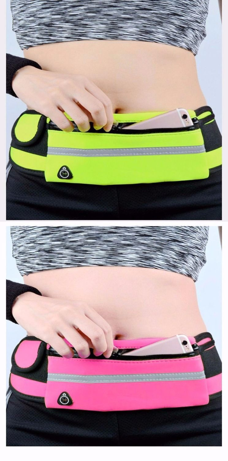 HTB1AyS3dwKG3KVjSZFLq6yMvXXaL - New Outdoor sports pockets Unisex Anti-theft mobile phone running belt waterproof men and women tactical invisible running bags