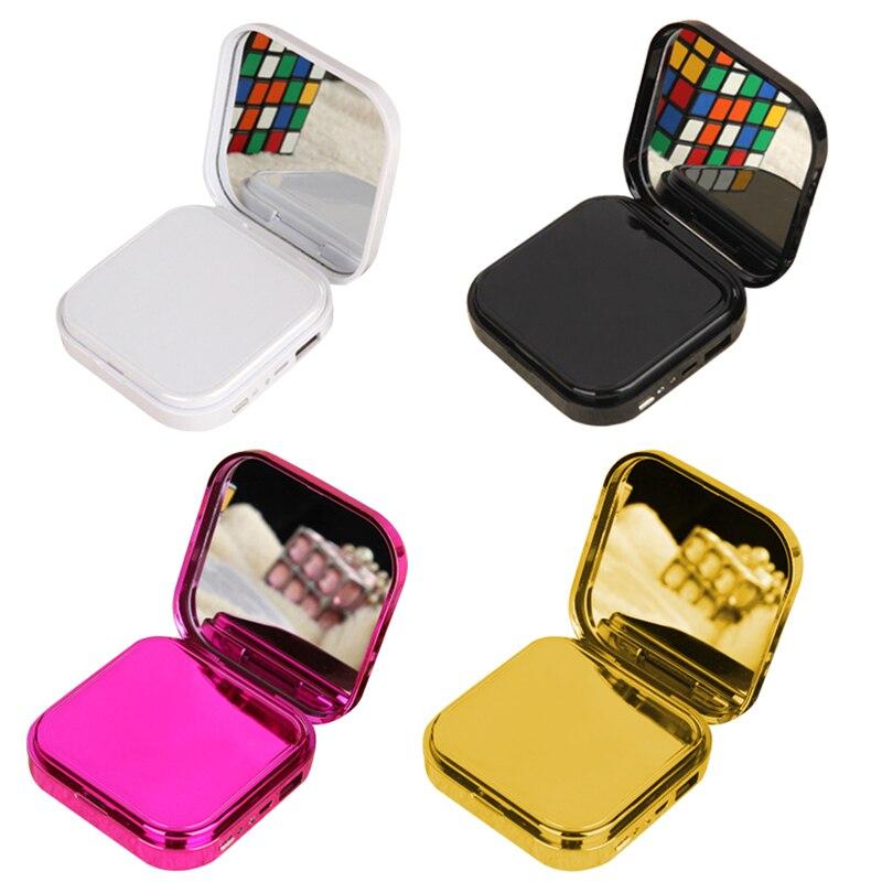 Portátil de maquillaje espejo mini 10000mAh Banco de la energía USB cargador banco de energía para iPhone Samsung batería externa de teléfono móvil paquete RUS nave CNC Router 3 4 eje de 3A 3N.M Nema 23 425 Oz-en motor paso a paso TB6600 conductor + 350W fuente de alimentación MACH3 controlador de tarjeta de