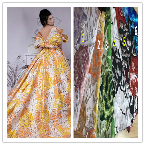 special JIANXI C 42519 embroidery tulle mesh lace fabric for fashion dress