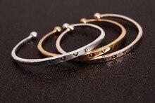 Hot style minimalist opening bracelet wholesale women