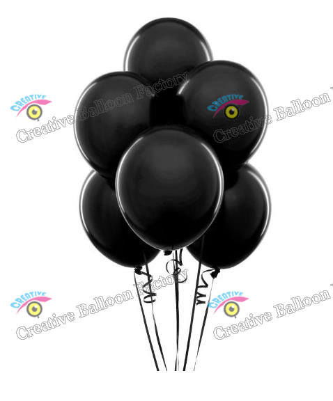 Wholesale 10inch 50pcs Lot Top Pearl Round Black Latex Ballons Party Wedding Baby Shower Birthday Decorations Toys For Kids In Accessories From