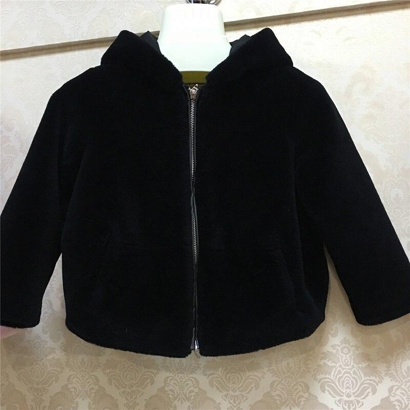 JKP 2018 Детская куртка с капюшоном из овечьей шерсти 100% импортная шерстяная куртка Экологически чистая теплая куртка ZPC 225 - 2