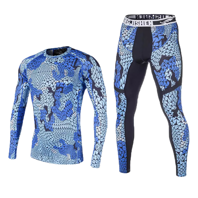 ФОТО 2016 New Compression Basketball Tight Sets Men Fitness Soccer Gym Training Sportwear Ropa Deportiva Hombre Running Compresiva 3D