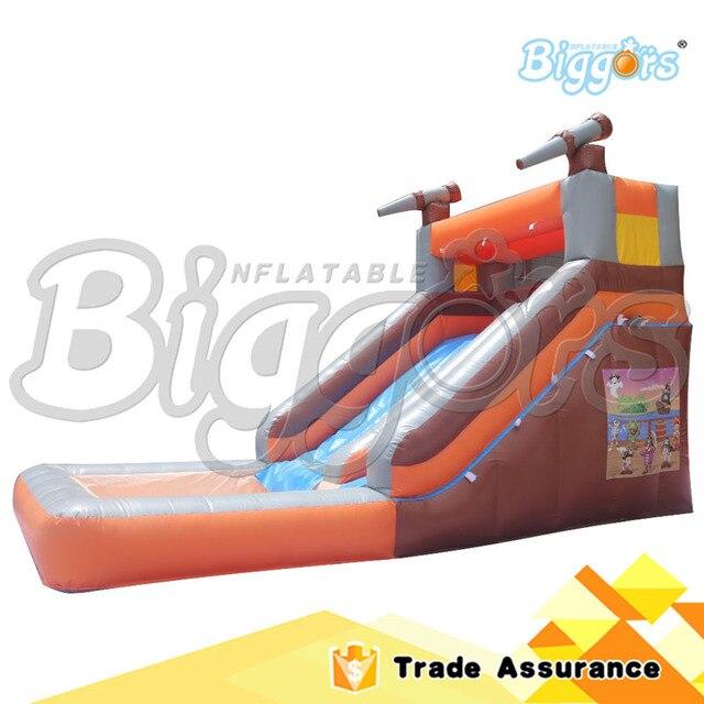 Море Доставка Горячей Продажи 6x3.5x3 м Надувной Бассейн с Водной Горкой Игры Для Детей И Взрослых