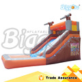 Sea Shipping Hot Selling 6x3.5x3m Inflatable Water Slide Pool Games For Kids And Adult