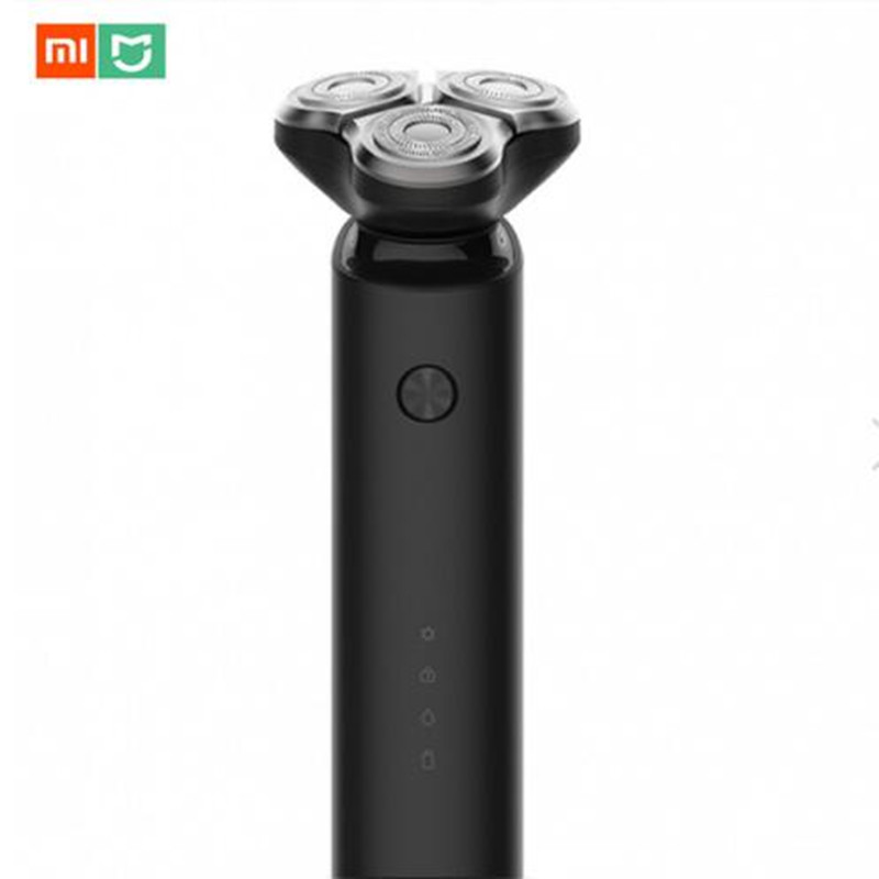 (In Stock) Original Xiaomi Mijia Electric Shave 3 Head Flex Dry Wet Shaving Washable Main-Sub Dual Blade Turbo+ Mode Comfy Clean original 1pcs n275ch04 goods in stock
