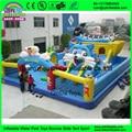 Novo Bouncy Inflável do Divertimento Da Cidade e bounce casa jumper Bouncy Castelo Inflável para parque de Diversões