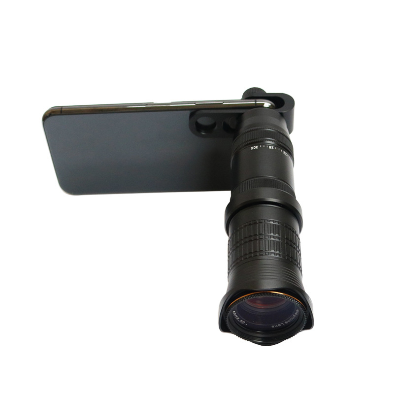 4K HD 18-30X Zoom Mobile Phone Lens Monocular Optical Lens Observing Survey Telephoto4K HD 18-30X Zoom Mobile Phone Lens Monocular Optical Lens Observing Survey Telephoto
