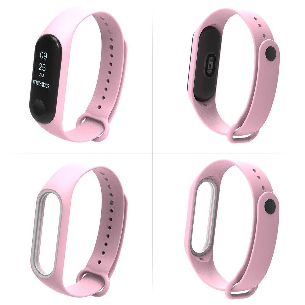 Sport Strap Für Xiao Mi Mi Band 2 Armband Neue Mode Klar Tpe Armband Sport Stil Gurt Armband Tropfen Verschiffen L1030 #2 Cleveres Zubehör Intelligente Elektronik