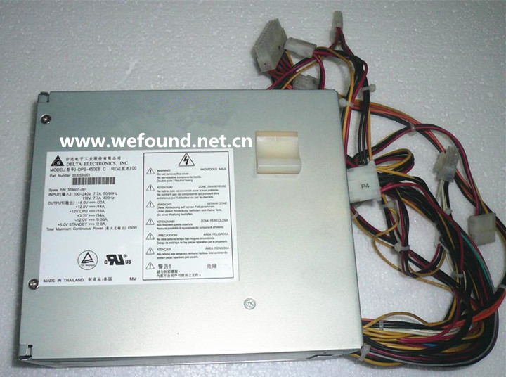 все цены на 100% working Workstation power supply For DPS-450EB C 333053-001 333607-001 450W Fully tested. онлайн