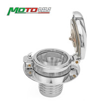 ใหม่การใช้ถังแก๊ส Cap Gloss Monza สไตล์รถจักรยานยนต์สำหรับ BMW R45 R65 R80 R90 90 S 100R R100