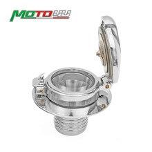 Neue Kraftstoff Tank Gas Cap Gloss Monza Stil Motorrad teile Für BMW R45 R65 R80 R90 90 S 100R R100