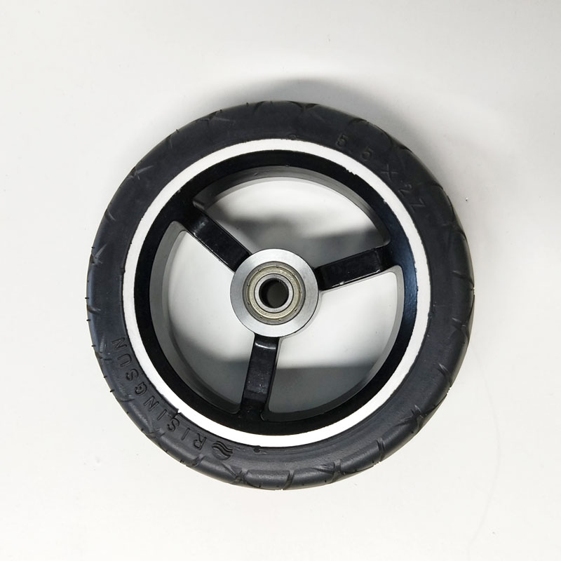 5.5 inch Rear Wheel Solid Tire for JACK HOT JASION Carbon Folding Mini Electric Scooter With Wheel Hubs Tyre Original Jackhot