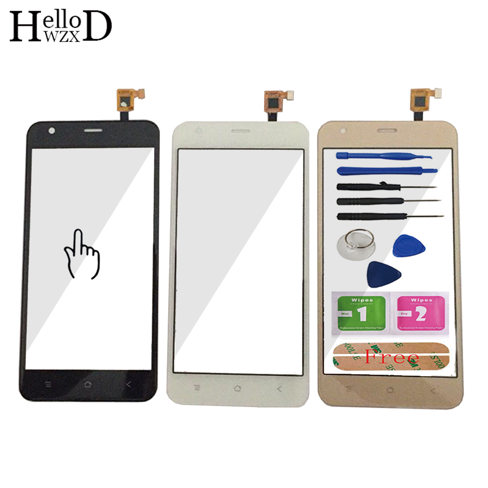 HelloWZXD 5.0'' Touch Glass For BlackView A7 / A7 Pro Touch Screen Glass Digitizer Panel Front Glass Lens Sensor Tools Adhesive