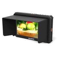 LILLIPUT A5 5 ips Full HD 4 K HDMI топ камера полевой монитор ультра тонкий 1920*1080 для Canon Nikon sony DSLR камеры