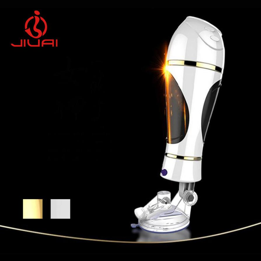 HOT Male Masturbator Toy USB Rechargeable Vibrating 20 Modes Electric Aircraft Cup Pussy Tight Vagina Suck Toys Sex ProductsL914 male electric masturbator toy vibrating 10 modes realistic pussy vagina masturbation cup sex toys usb rechargeable 360373