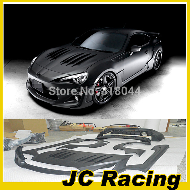 GT86 BRZ FRS Wald Styling FRP Bumper Styling ,Auto Car Body Kit For Toyota(Fit GT86 BRZ FRS)