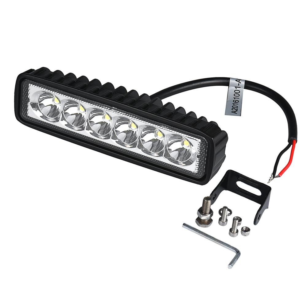 tiptop w spotlight led luz de trabajo bar lmpara de conduccin de niebla campo a