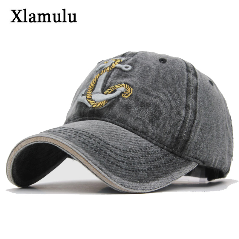d8d4469e Xlamulu Cotton Baseball Caps Hats For Men Brand Snapback Casquette Women  Caps Vintage Bone Men Hat Gorras Trucker Male Dad Cap