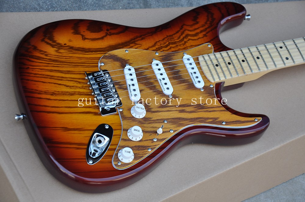 New arrive Str 6 string Stratocaster electric guitar in stock, S S S (noise reduction pickups) free shipping