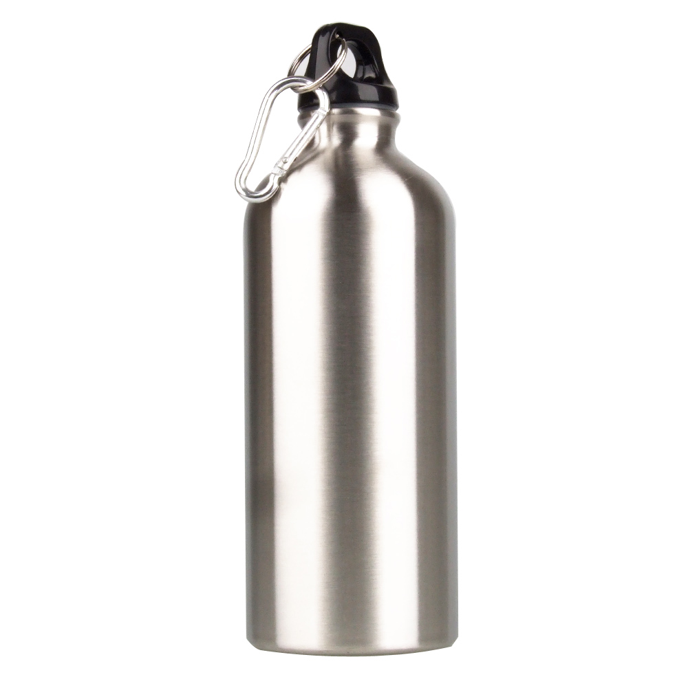 600ML Outdoor Sports Stainless Steel Water Bottle Narrow Mouth Camping Drinking Water Bottle Bicycle Cycling Water Bottle