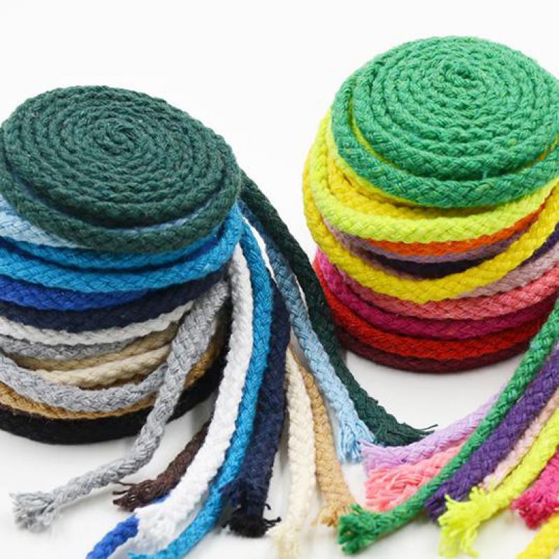 rope burlap jute thick bow curtain tie decorative watch cotton decor