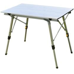 2018 mesa plegable al aire libre Silla de Camping de aleación de aluminio mesa de Picnic resistente al agua mesa plegable escritorio para 90*53cm